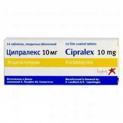 Ципралекс, табл. п/о 10 мг №14