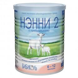 Смесь молочная, Нэнни 400 г 2 с пребиотиками на козьем молоке с 6 мес
