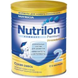 Смесь молочная, Нутрилон 400 г Комфорт 2 с 6 мес.