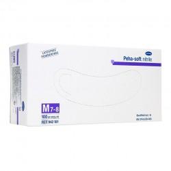 Перчатки нестерильные смотровые нитриловые, Пеха софт р. m №10 арт. 942197 Фино неопудренные диагностические
