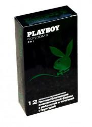 Презервативы, Плейбой №12 3 в 1