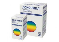 Донормил, табл. п/о 15 мг №10