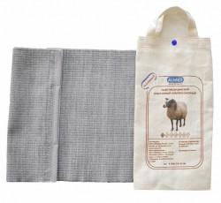 Пояс, р. 6 XXL (99-109см) согревающий из овечьей шерсти разъемный