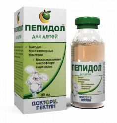 Пепидол ПЭГ, Доктор Пектин р-р 3% 100 мл